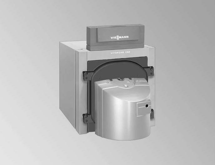 Водогрейный котел для жидкого и газообразного топлива Vitorond 200 (125 - 270 кВт)