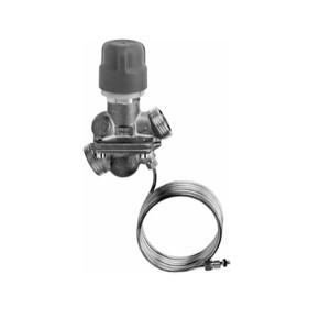 Автоматический комбинированный балансировочный клапан AB-PM