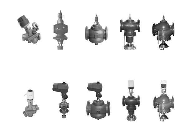 Автоматические комбинированные балансировочные клапаны АВ-QM Ду = 10–250 мм