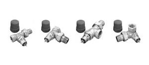 Клапаны терморегулятора c предварительной настройкой RA-N и RА-NCX