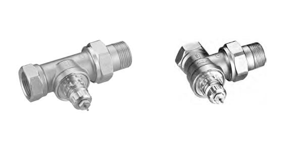 Клапан терморегулятора с повышенной пропускной способностью RA-G