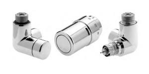 Комплект терморегулирующей арматуры X-traTM для полотенцесушителей и дизайн-радиаторов