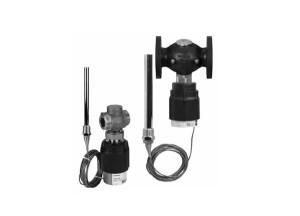 Клапаны — регуляторы температуры с нормально закрытым клапаном AVT/VGU — с наружной резьбой, AVT/VGUF — фланцевый (Ру 25)