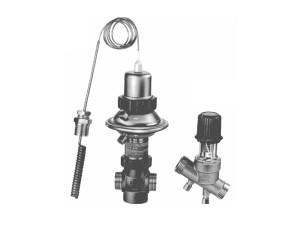 Клапан — регулятор температуры с коррекцией по расходу AVTQ (Ду 20)