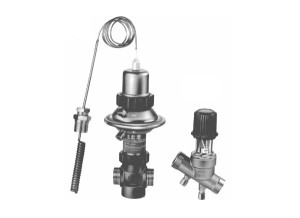 Клапан — регулятор температуры с коррекцией по расходу AVTQ (Ду 15)