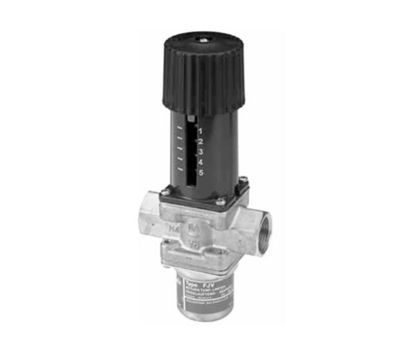 Клапан — регулятор температуры обратного теплоносителя FJV