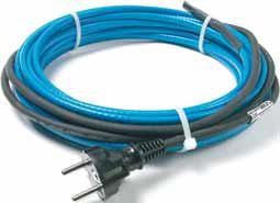 Саморегулирующийся нагревательный кабель DEVIpipeheat 10