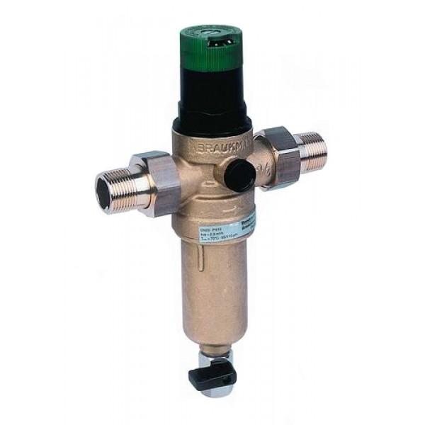 Сетчатый фильтр механической очистки HONEYWELL FK06 3/4AAM с регулятором давления