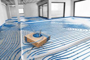Трубы KAN‑therm PE‑RT Blue Floor
