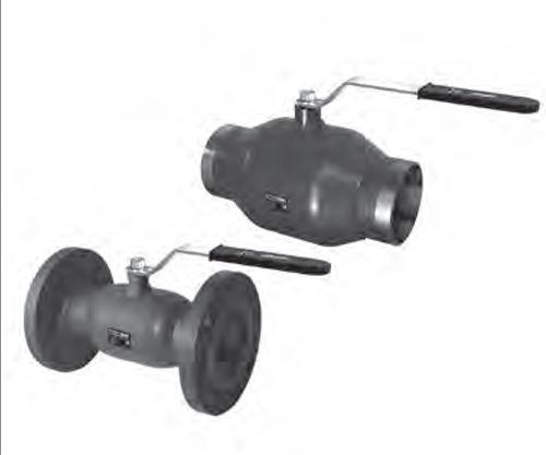 краны шаровые JIP STANDARD цельносварные из углеродистой стали со стандартным проходом