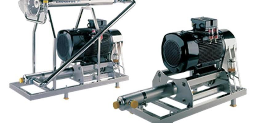 Модуль повышения давления с внешним электродвигателем BME, BMET