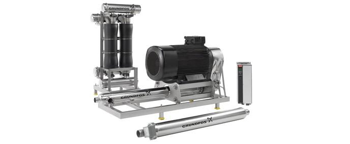 Высоконапорная система повышения давления BMEX