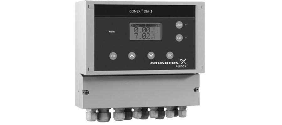 Двойной измерительный усилитель и контроллер Conex DIA-2