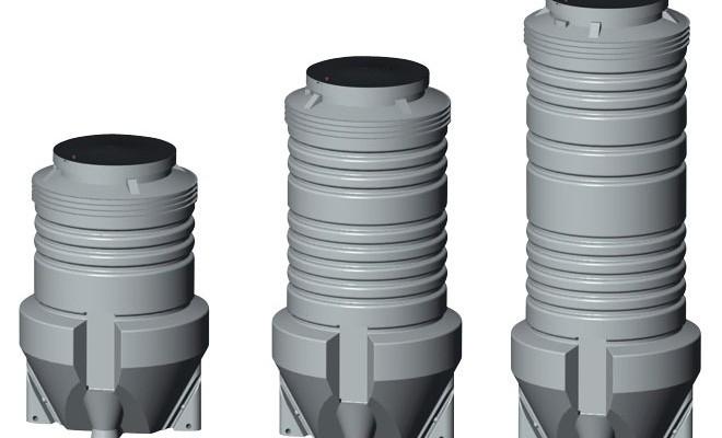 Комплектные канализационные насосные станции PUST глубиной до 4000 мм