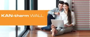 Cтеновое отопление: cухой & мокрый метод KAN-therm Wall