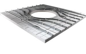 Система отопления поверхностей x-net C12 с применением гарпун-скоб