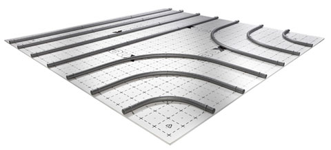 Система отопления поверхностей x-net C16 clip