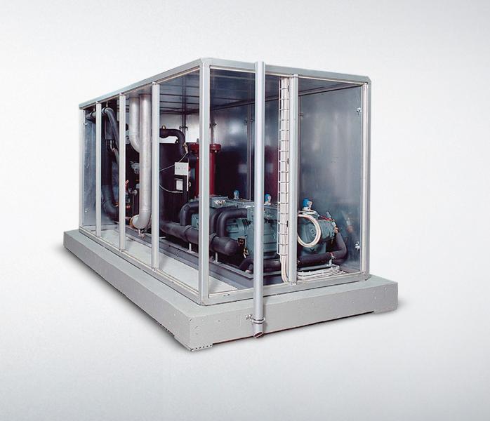 Тепловые насосы мощностью до 2 МВт