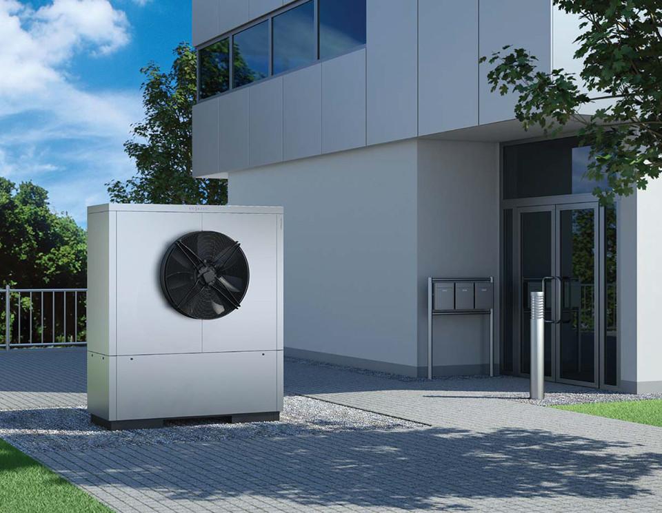 Тепловой насос воздух/вода Vitocal 300-A 20-50 кВт
