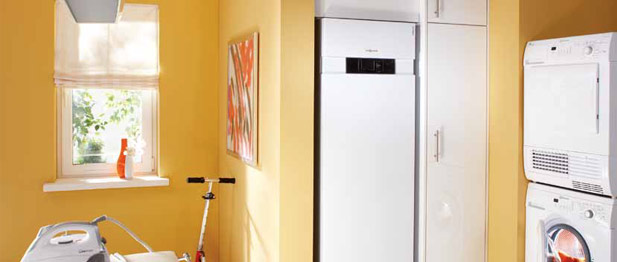 Компактный тепловой модуль для использования солнечной энергии Vitocal 343-G