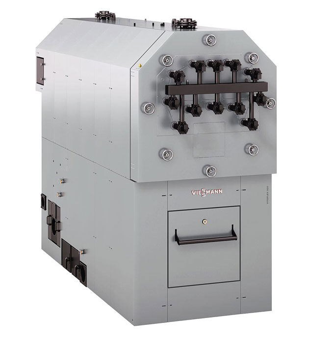 Котел на биомассе для сухого и влажного топлива Vitoflex 300-UF