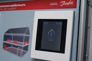 Контролируйте температуру дома всего в два клика с помощью Danfoss Link™ СС