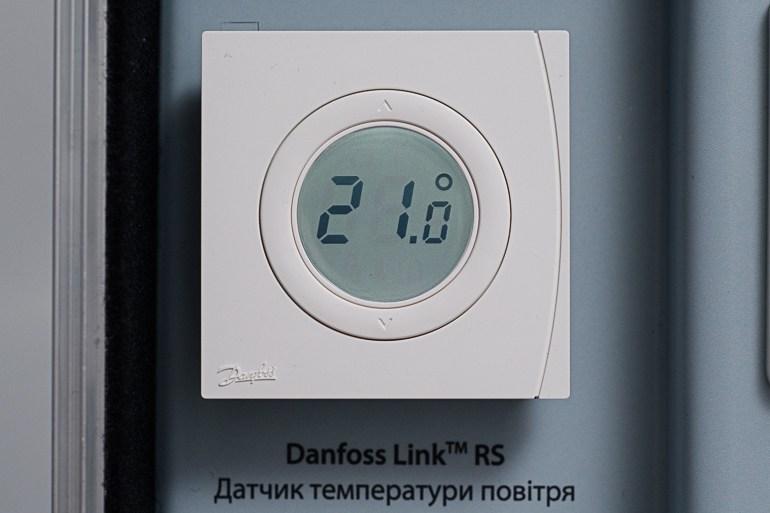Центральная сенсорная панель Danfoss Link™ СС