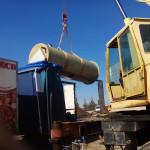Каналізаційна насосна станція Дощової каналізіції (Грундфос)