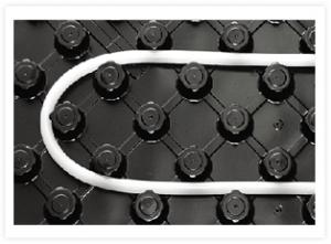 Системы крепления труб при монтаже системы подпольного отопления KAN-therm