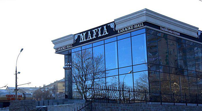 Ресторан Мафия Николаев Реализованные проекты Вега Строй Центр