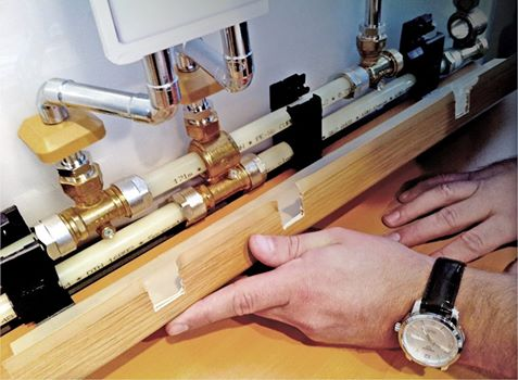 Что такое плинтусная система разводки труб в системе KAN-therm?