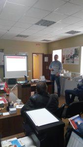 Совместное обучение с компанией Danfoss 21 марта 2017 года