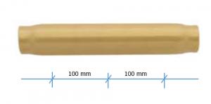 """Стальные коллекторные трубки 1 1/4"""" для подключения измерительной арматуры"""