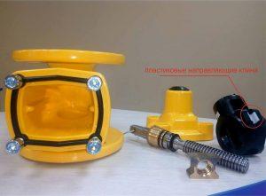 JAFAR запірна арматура: засувки