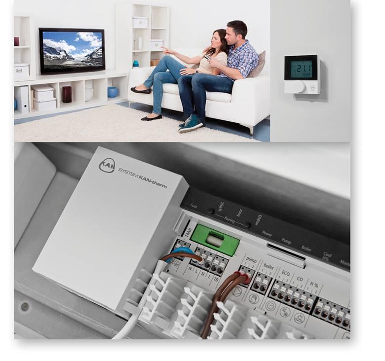 Система KAN-therm SMART – отопление с приставкой «умное». (Часть 1)