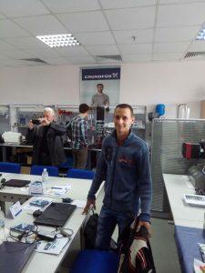 Наші працівники ВСЦ-Сервіс пройшли навчання служби сервісу ГРУНДФОС УКРАЇНА в м. Києві