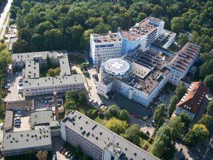 Подогрев взлетно-посадочной площадки для вертолетов - госпиталь Ольштын, Польш
