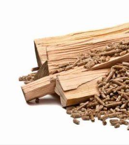 Виды древесного топлива