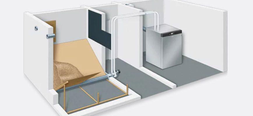 Системы хранения и подачи древесных пеллет