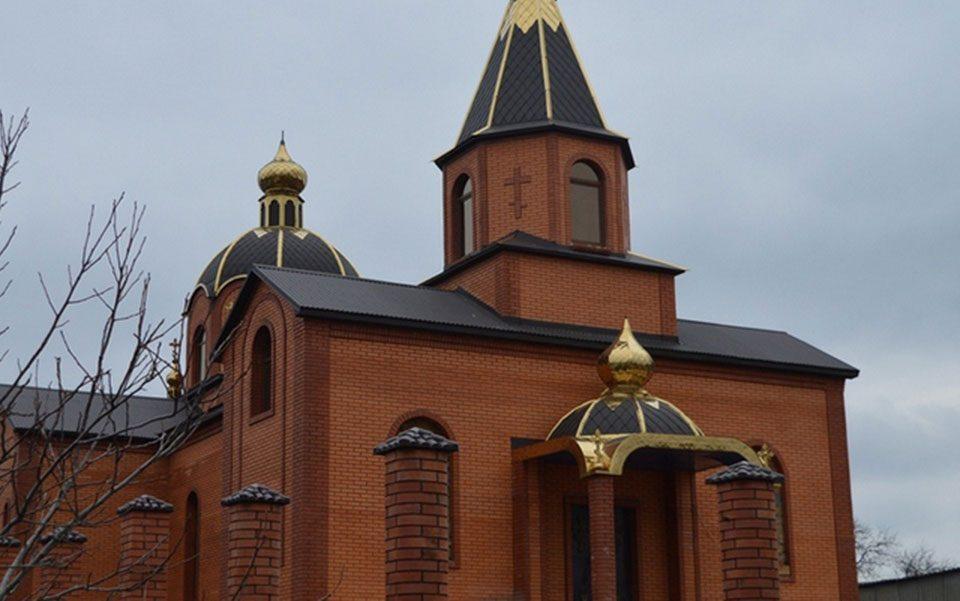 Свято-Рождественский храм с. Плющевка
