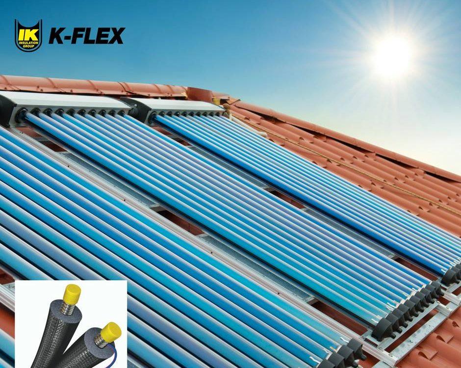 Комплектуем гелиосистему эффективно с K-FLEX TWIN SOLAR!