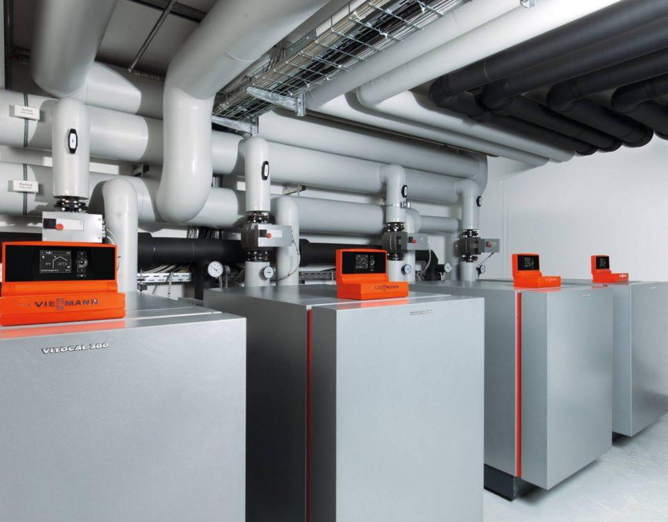 Промышленные тепловые насосы viessmann