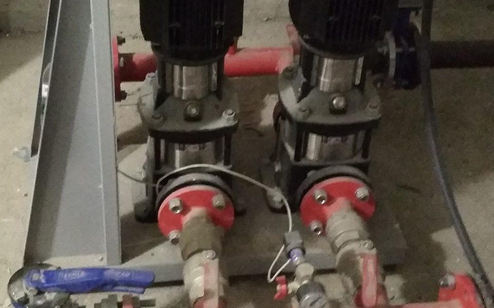 Пожарные насосы для ЖК Ривьера