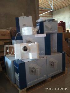 Поставка компактных канализационных насосных станций GRUNDFOS на судостроительный завод