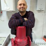 Ремонт системы отопления школы с. Крымка